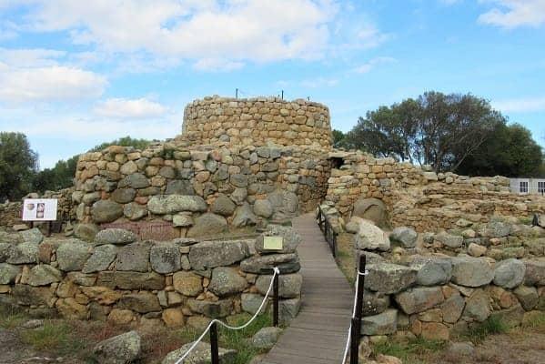 Ancient Nuraghe Village