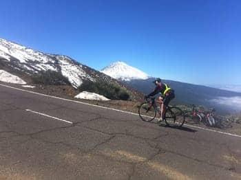 Teide Winter Snow