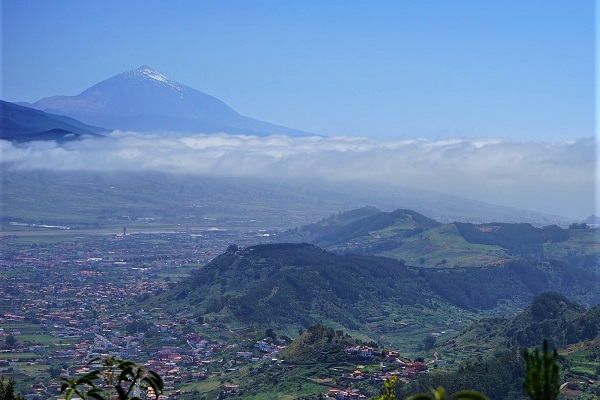 View from Anaga Natural Park