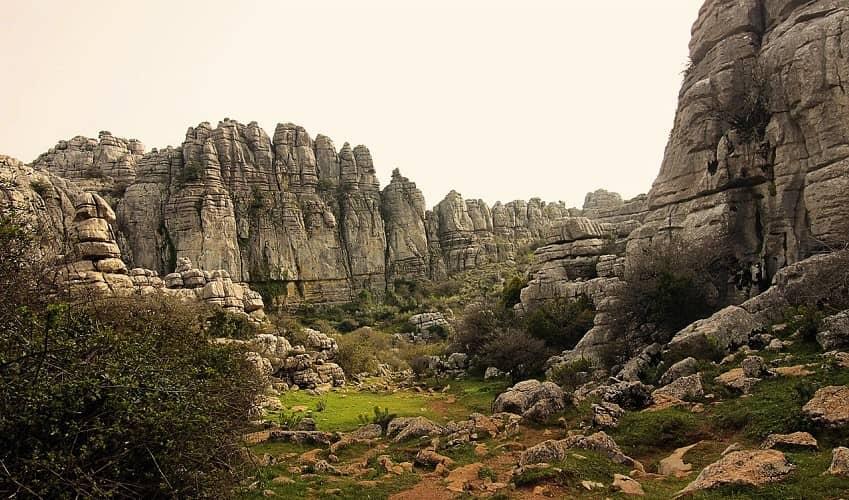 Torcal de Antequera   Cycling Climb in Andalucia