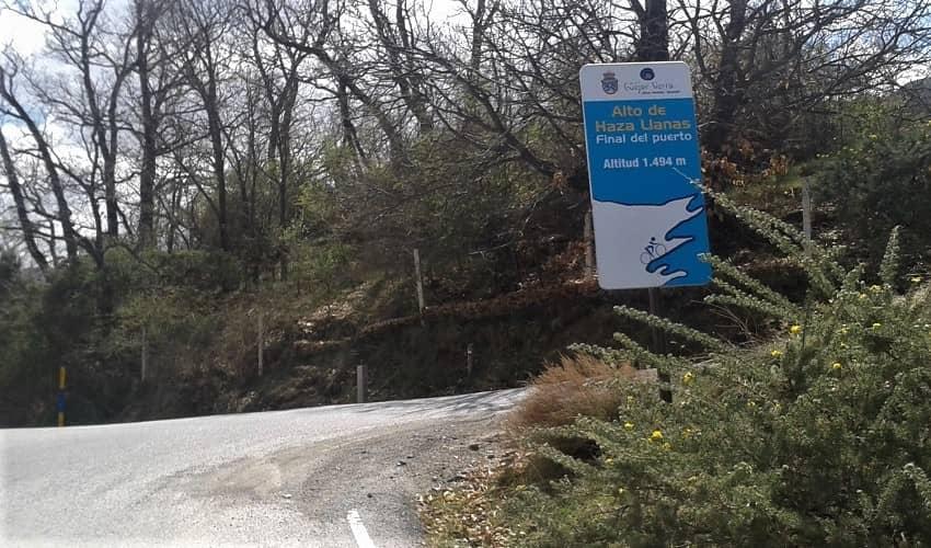 Alto de Haza Llanas (Guejar Sierra) -  Cycling Climb in Andalucia