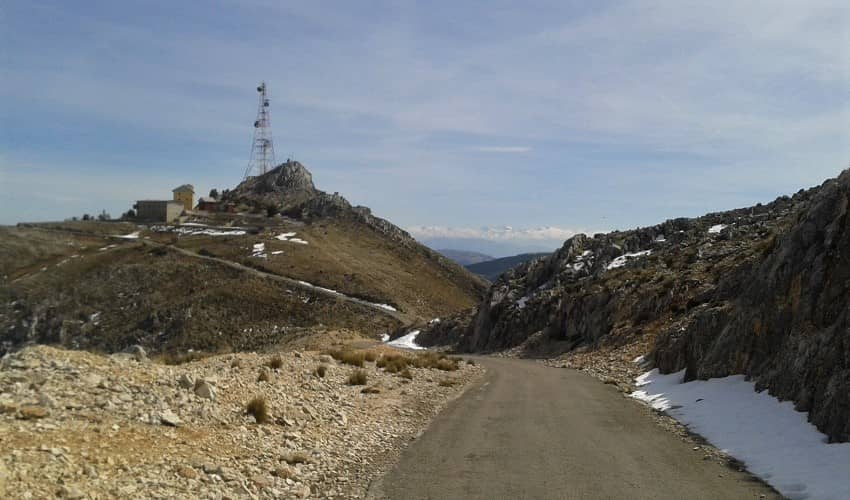 La Pandera (Valdepeñas) -  Cycling Climb in Andalucia