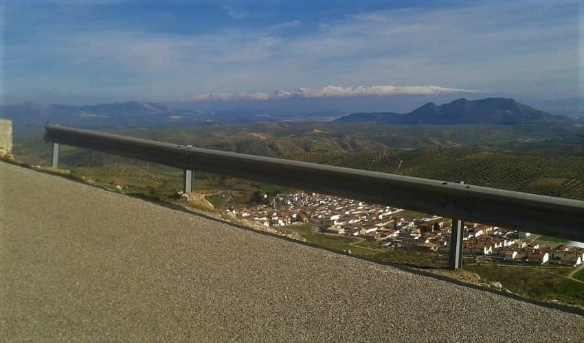 Moclín (Tiena) -  Cycling Climb in Andalucia