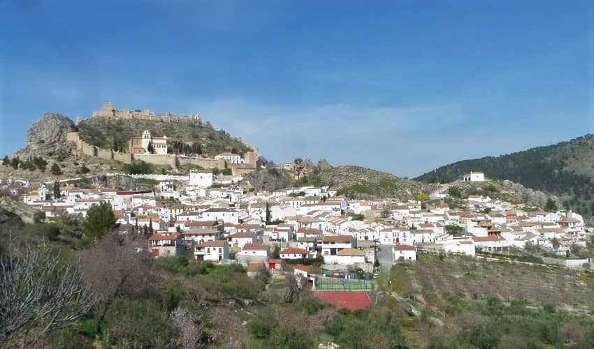 Moclín (Puerto Lope) -  Cycling Climb in Andalucia