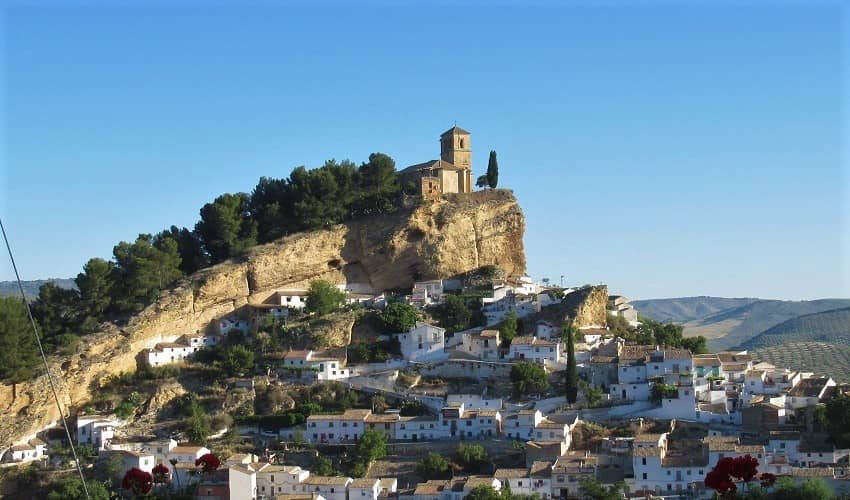 Alto de Montefrío (Tocón) -  Cycling Climb in Andalucia
