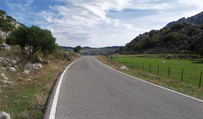 Pedro Ruiz   Cycling Climb in Andalucia
