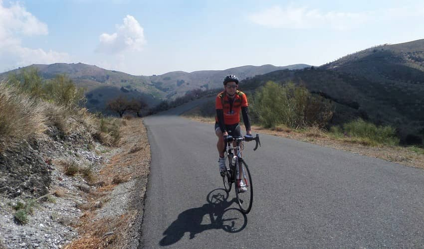 Polopos  -  Cycling Climb in Andalucia