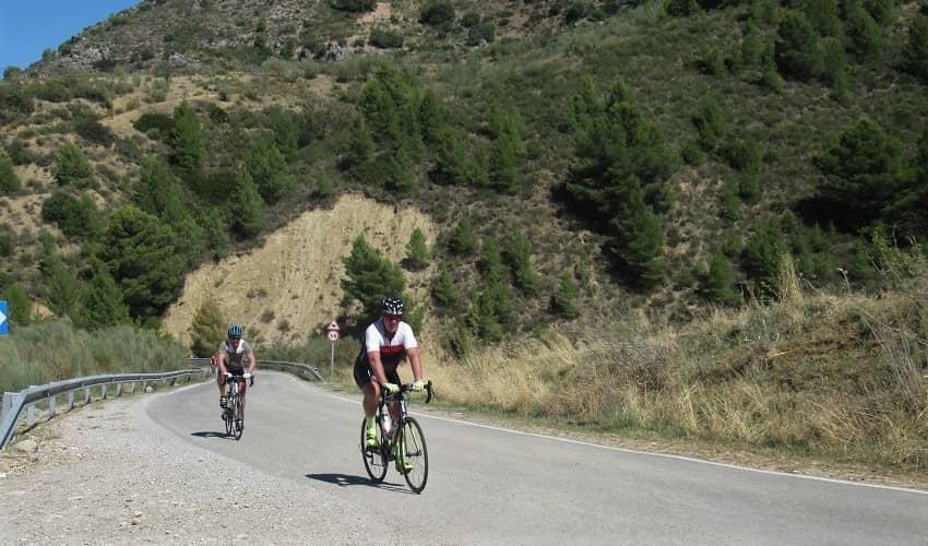 Puerto del León   Cycling Climb in Andalucia