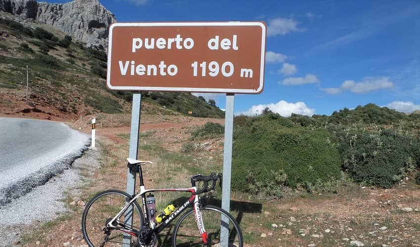 Puerto del Viento   Cycling Climb in Andalucia