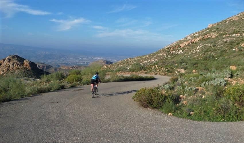 Sierra Cabrera (La Carrasca) -  Cycling Climb in Andalucia