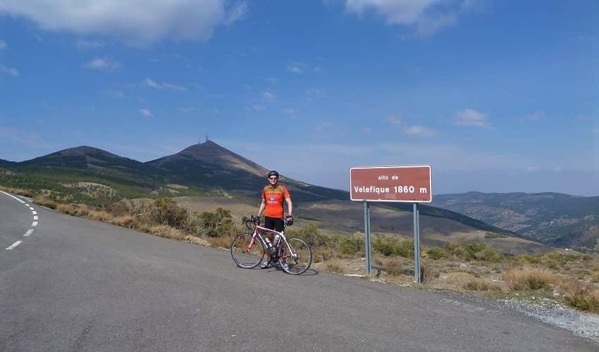 Tetica de Bacares (Velefique) -  Cycling Climb in Andalucia