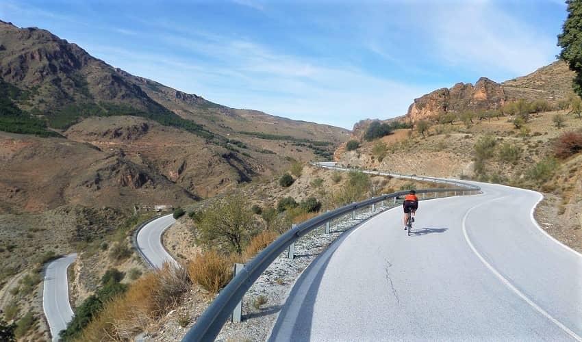 Tetica de Bacares (Tíjola) -  Cycling Climb in Andalucia