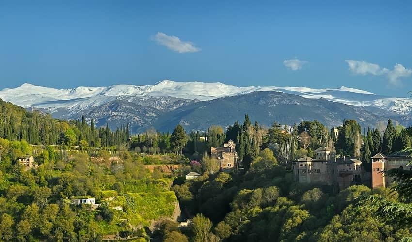 Pico Veleta (Pinos Genil) -  Cycling Climb in Andalucia