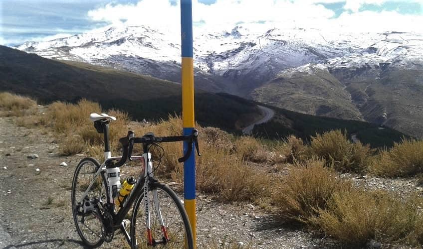 Pico Veleta (Haza Llanas) -  Cycling Climb in Andalucia