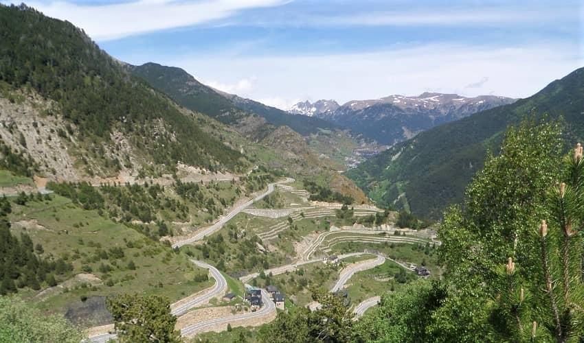 Coll d'Ordino Andorra Cycling Climb