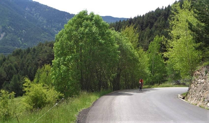 Coll de la Gallina Andorra Cycling Climb