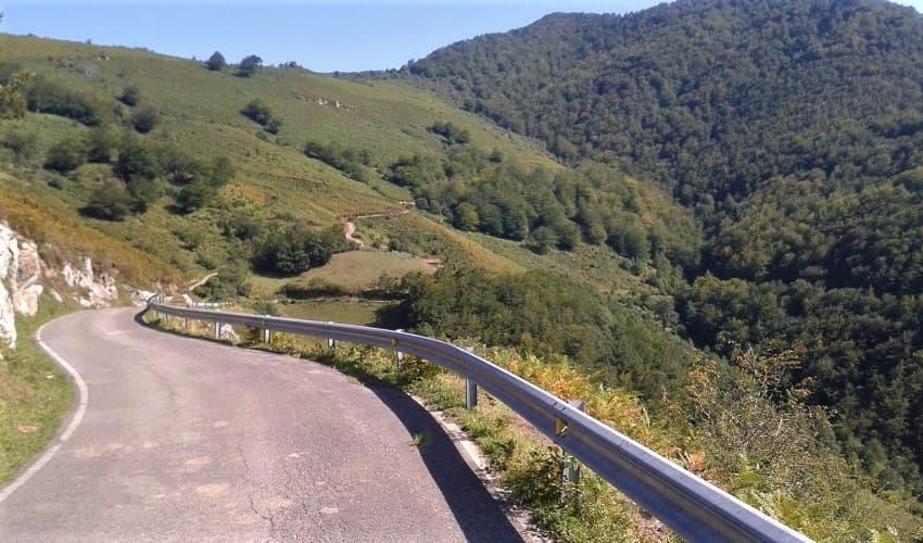 Alto de la Torneria  -  Asturias Cycling Climb