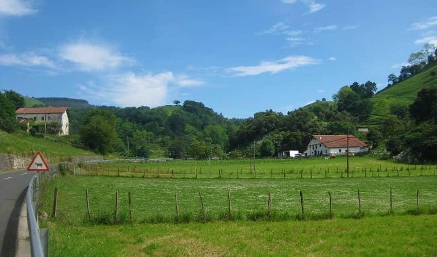 Aia from Altxerri - Basque Cycling Climb