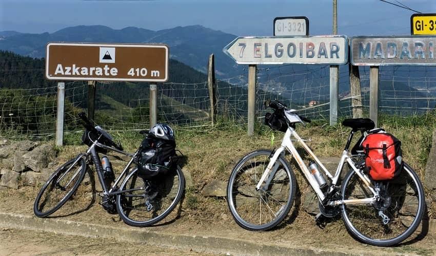 Azurki from Azkoitia - Basque Cycling Climb