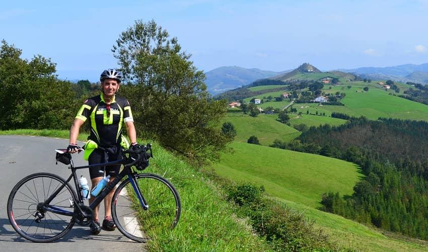 Azurki from Zestoa - Basque Cycling Climb