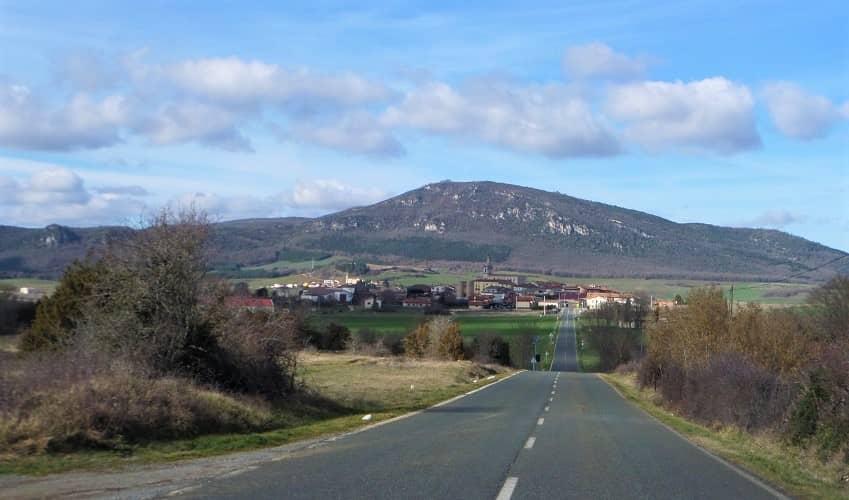 Herrera from Peñacerrada - Basque Cycling Climb