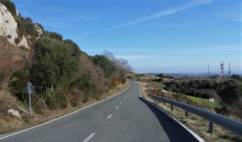 La Aldea from Bilar - Basque Cycling Climb