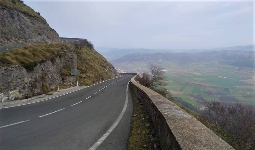 Orduña from Orduña - Basque Cycling Climb