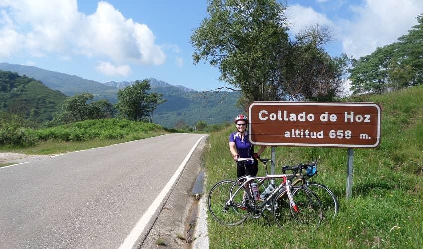Collado de la Hoz from Sobrelapeña - Cantabria Cycling Climb