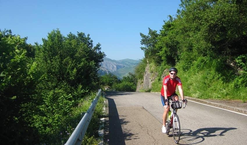 El Caracol from San Roque - Cantabria Cycling Climb