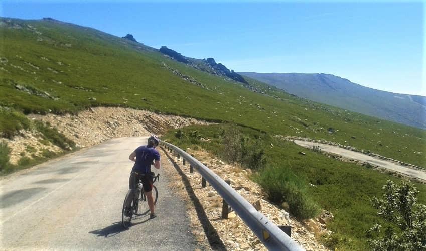 El Peñon from Doney - Castilla y León Cycling Climb