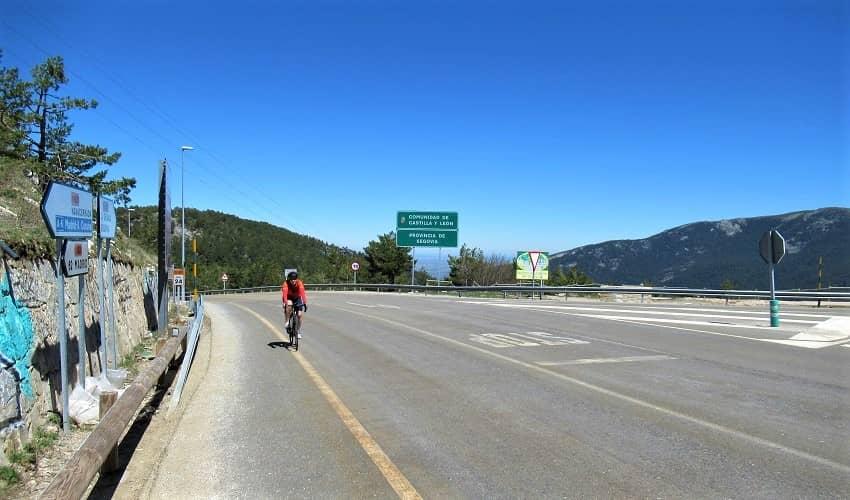 Navacerrada from La Granja - Castilla y León Cycling Climb