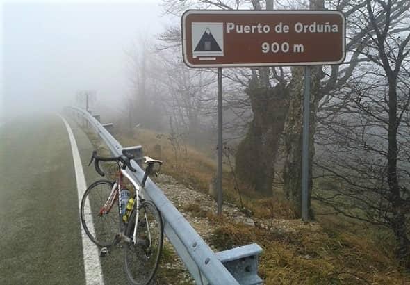 Orduña from Berberana - Castilla y León Cycling Climb