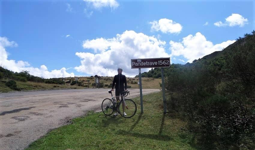 Pandetrave from Caín - Castilla y León Cycling Climb