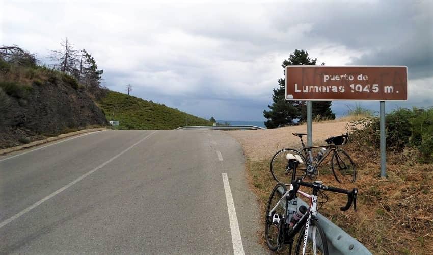 Puerto de Lumeras from Sesamo - Castilla y León Cycling Climb