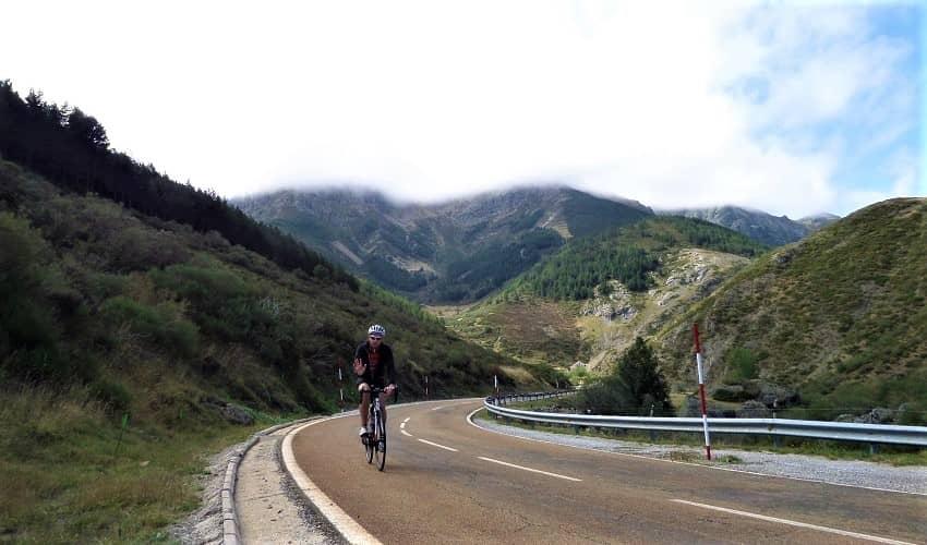 Puerto de San Glorio from Portilla - Castilla y León Cycling Climb