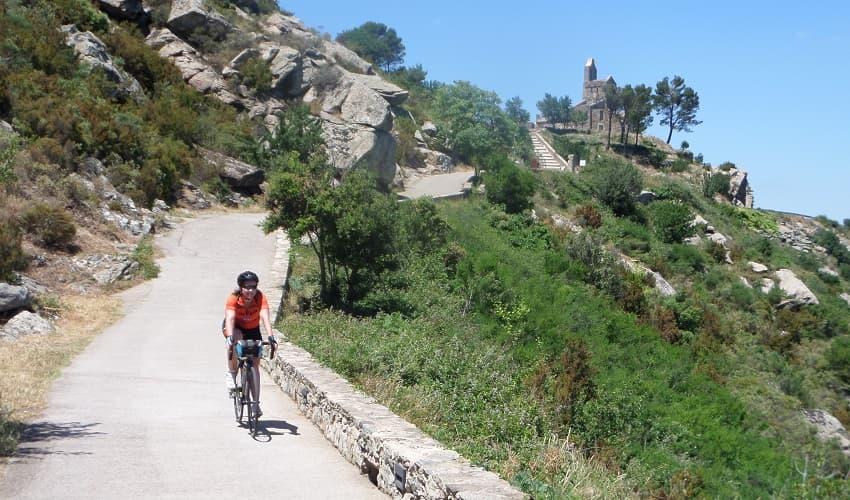 Sant Pere de Rodes Girona - Catalonia Cycling Climb