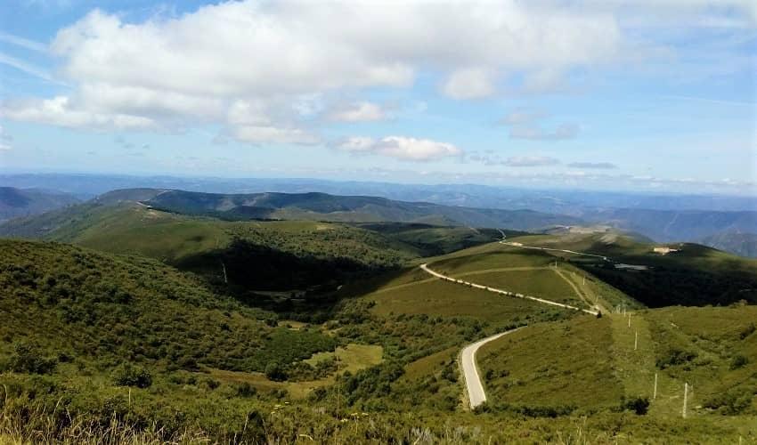 Puerto de Ancares from Balouta - Galicia Cycling Climb
