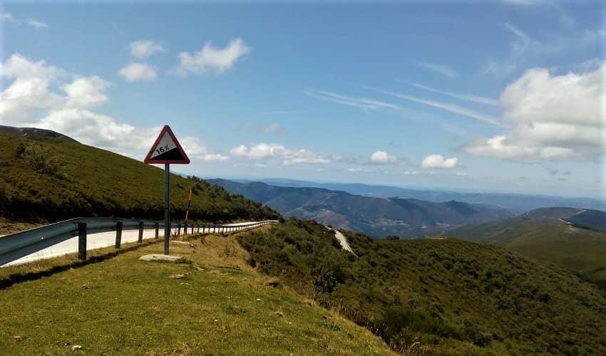 Puerto de Ancares from Pan do Zarco - Galicia Cycling Climb