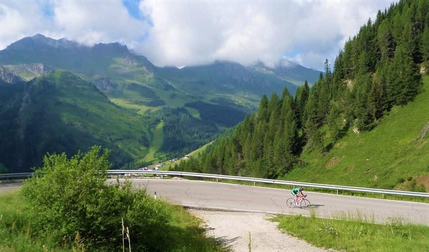 Passo Campolongo from Arabba - Italian Alps Cycling Climb