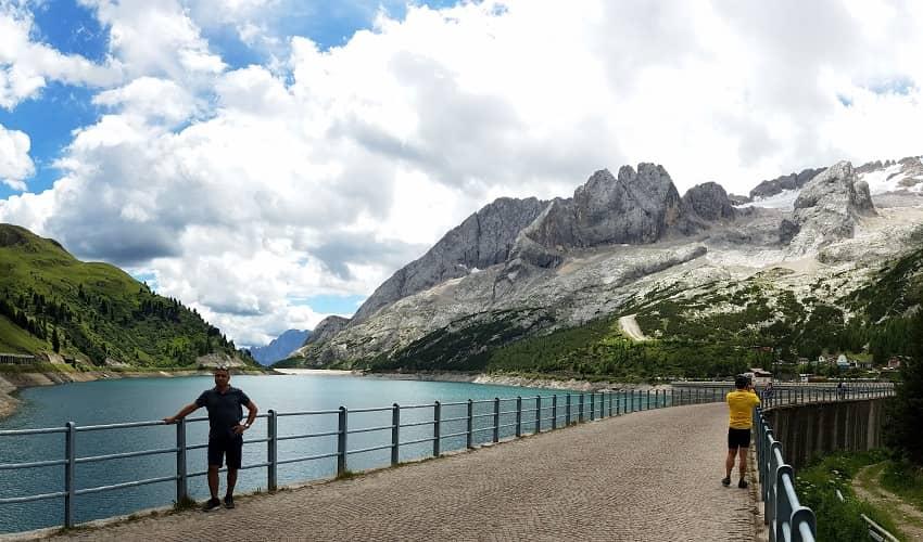 Passo Fedaia from Canazei - Italian Alps Cycling Climb
