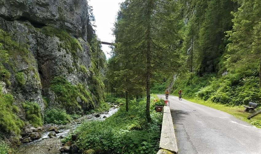 Passo Fedaia Sottoguda Gorge