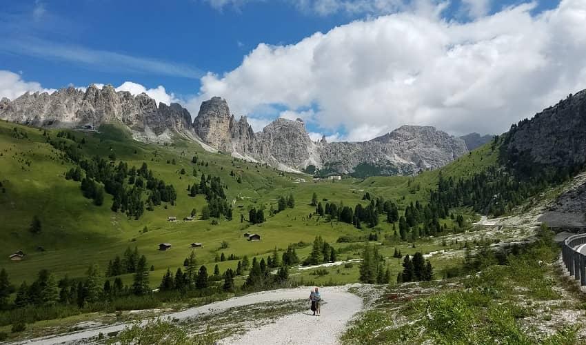 Passo Gardena from Ponte Gardena - Italian Alps Cycling Climb
