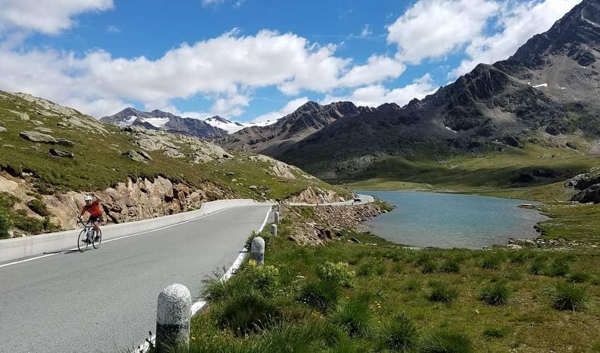 Passo di Gavia from Bormio - Italian Alps Cycling Climb