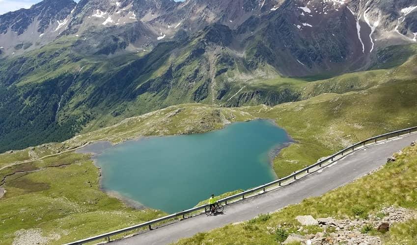 Passo di Gavia from Ponte di Legno - Italian Alps Cycling Climb