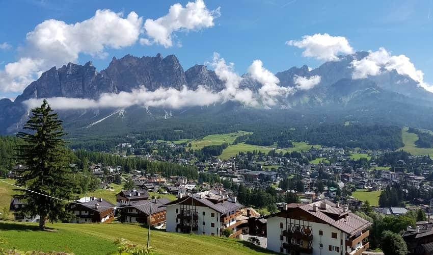 Passo di Giau from Cortina - Italian Alps Cycling Climb