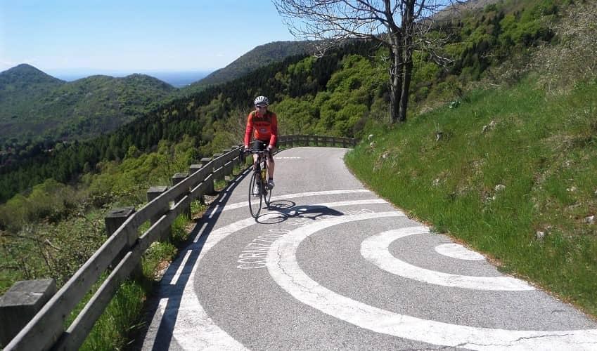 Muro di Sormano from Sormano - Italian Alps Cycling Climb