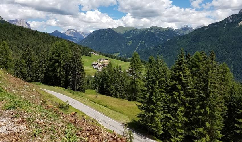 Passo Costalunga Cycling Climb