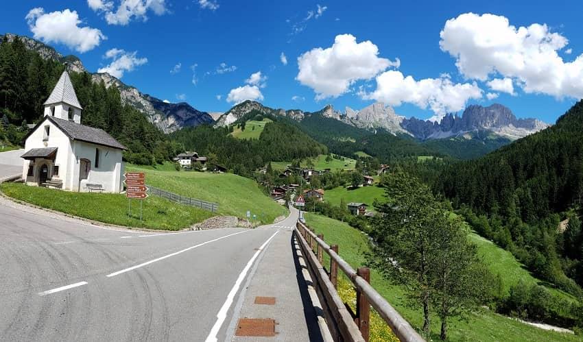 Passo Nigra from Brie - Italian Alps Cycling Climb