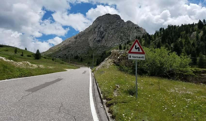 Passo Pordoi from Arabba - Italian Alps Cycling Climb
