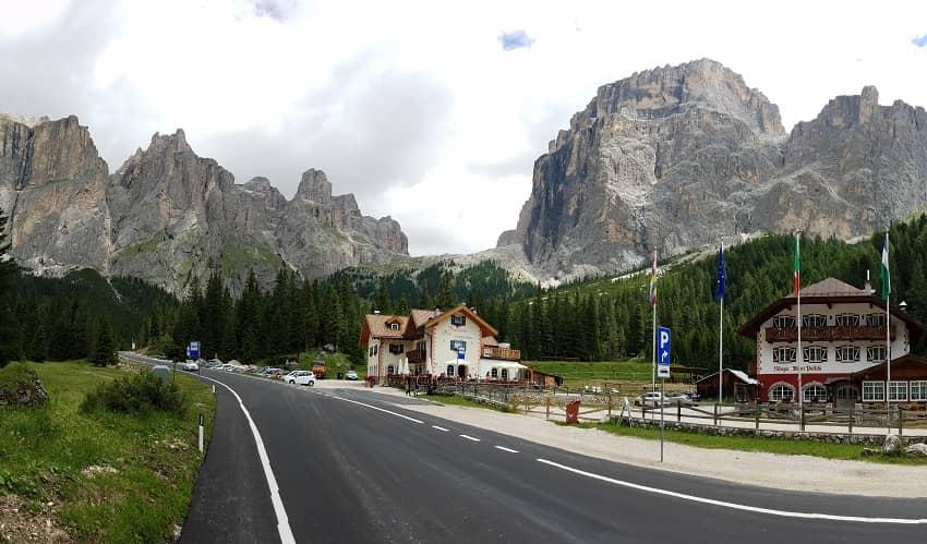 Passo Sella from Canazei - Italian Alps Cycling Climb